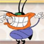 เกมส์อ็อกกี้แก๊งแมลงสาบ, เกมส์อ็อกกี้จับแก๊งแมลงสาบ, เกมส์อ็อกกี้และแมลงสาบขโมยซุกซน