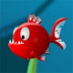เกมส์ผจญภัยปลาปิรันย่าจอมขเมือบ, เกมส์ปลาใหญ่กินปลาเล็ก,  เกมส์ Fish Crunch