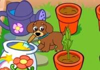 เกมส์ปลูกดอกไม้กับเจ้าตูบ