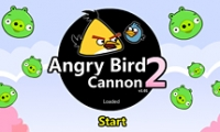 Angry Bird Cannon 2