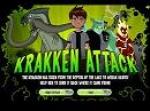 เกมส์เบ็นเท็น Krakken Attack เกมเบ็นเท็นโจมตีสัตว์ยักษ์ในตำนาน